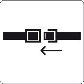 Trans-avion-23 attacher la ceinture
